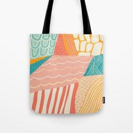beach quilt Tote Bag