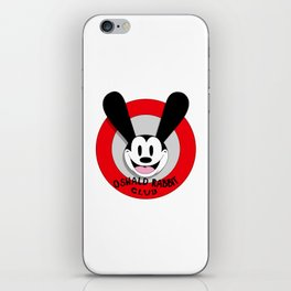 Oswald the Lucky Rabbit Club iPhone Skin