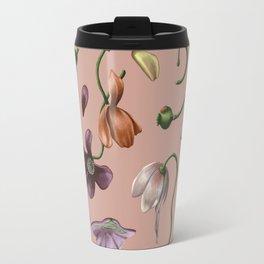 Melting Poppies Travel Mug