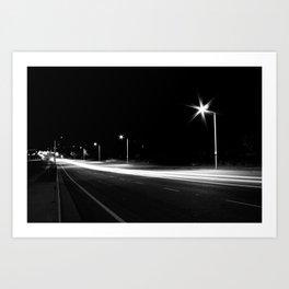 Night Speed Art Print