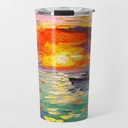 At sunset Travel Mug