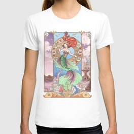 Every Girl Is A Princes 01: Andersen's The Little Mermaid T-shirt