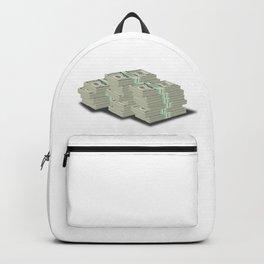 Pile Of Cash Backpack