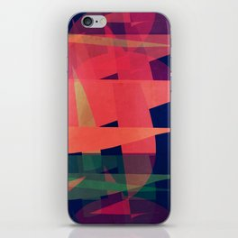 Wedges of Thought iPhone Skin
