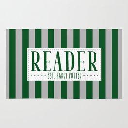 Reader Est. Slytherin Rug