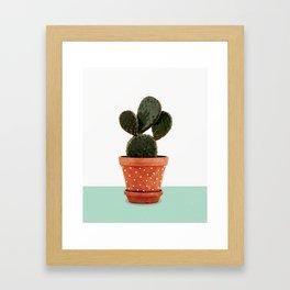 Cactus Pot Framed Art Print