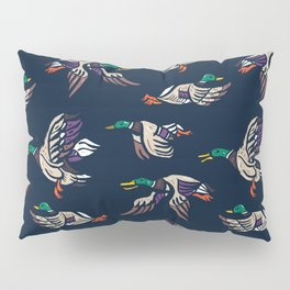 Male Mallard ducks Pillow Sham