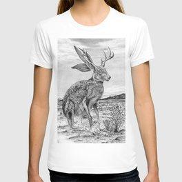 Chisos Mountain Jackalope T-shirt