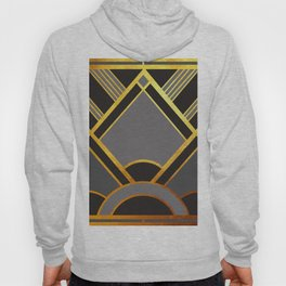 Art Deco New Tomorrow In Grey Hoody