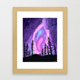 Star Goddess Framed Art Print