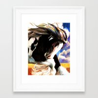 royal Framed Art Prints featuring ROYAL by Maggie Stiefvater