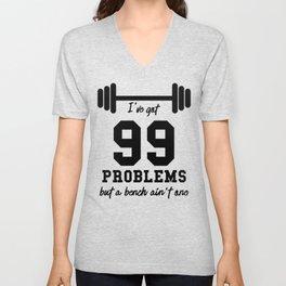 99 Problems Unisex V-Neck