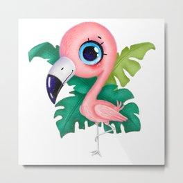 flamingo Metal Print