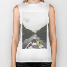 Live the Kayak Life Biker Tank