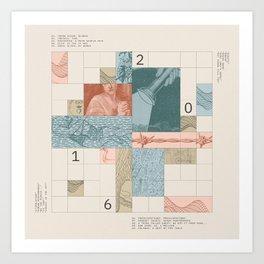 Decaded: 2016 Art Print
