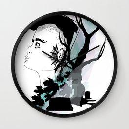 Dead Girl Wall Clock