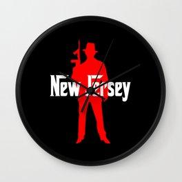 new jersey mafia Wall Clock
