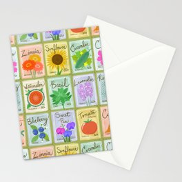 Seed Packets Stationery Cards