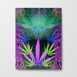 Scramble Light Entity III Metal Print