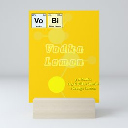 Vodca Lemon Mini Art Print