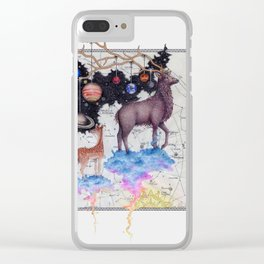 Sightseeing: or, the adynaton Clear iPhone Case