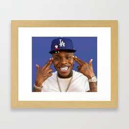 DaBaby Baby on Baby Framed Art Print