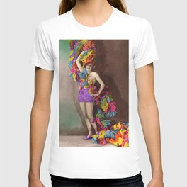 Feathers: Vintage Darlings T-shirt