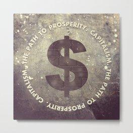 The Path To Prosperity Metal Print
