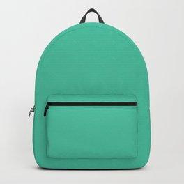 Biscay Green 4EC5A5 Spring Summer Backpack