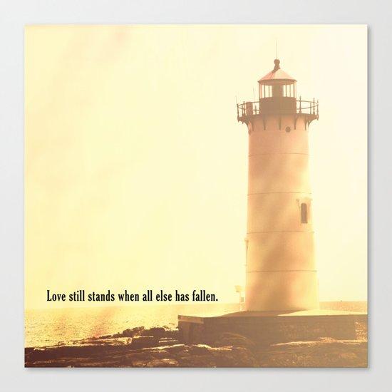 Love Still Stands Canvas Print