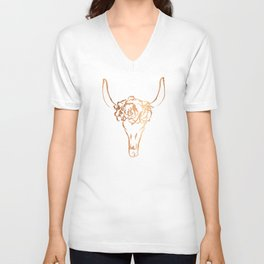 Copper Beast Head Unisex V-Neck