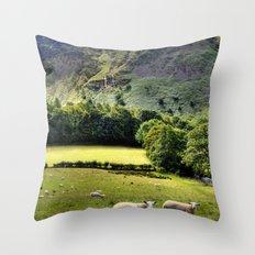 Lucky Sheep Throw Pillow