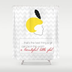 The Great Gatsby Daisy Shower Curtain