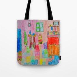 Colorful Bedroom #society6 Tote Bag