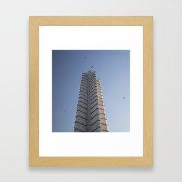 The Jose Marti Memorial, in La Havana, Cuba. Framed Art Print