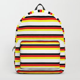Mariniere and Flag - Germany Backpack