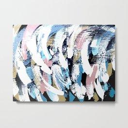 Abstract Clara Metal Print