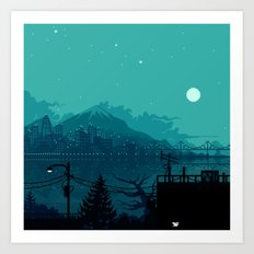 Dark Harbor Art Print
