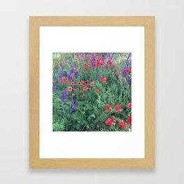 Good buy my Summer Framed Art Print
