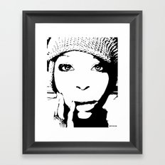 Badu Framed Art Print