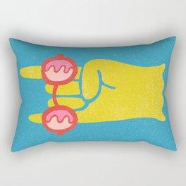 Soft Metal Rectangular Pillow