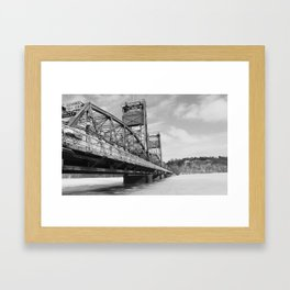 Still over the water (lifted) Framed Art Print