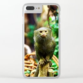 Toy-monkey Clear iPhone Case