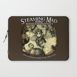 Steaming Mad Boiler Repair Laptop Sleeve