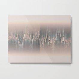 Reversible Space A+B Metal Print