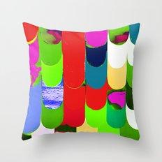 abstract art, pattern, print Throw Pillow