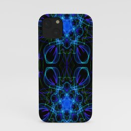 Abstract hourglass iPhone Case