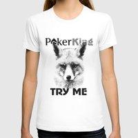 poker T-shirts featuring poker king by Roman Belov