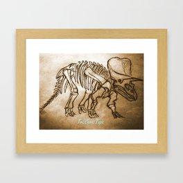 tri.cera.tops Framed Art Print