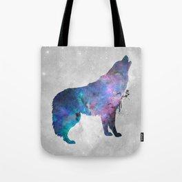 Galaxy Series (Wolf) Tote Bag